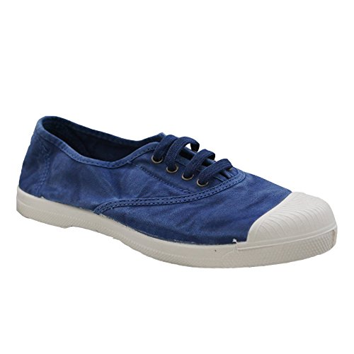 Natural World  Nw-102e_614bl_36, Baskets pour femme bleu bleu 36 EU AZUL ENZI