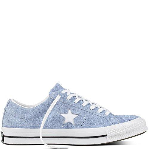 Converse One Star Suede (Converse Unisex-Erwachsene Lifestyle One Star Ox Suede Fitnessschuhe, Blau (Blue Chill/White/Black 457), 39 EU)