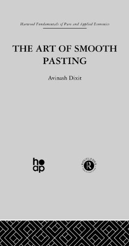 The Art of Smooth Pasting: Volume 1 (Harwood Fundamentals of Pure and Applied Economics)