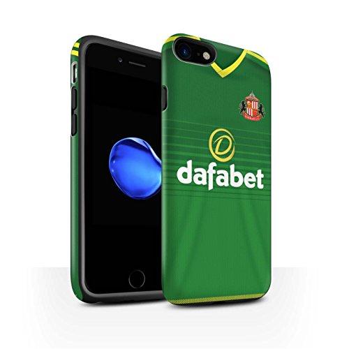 Offiziell Sunderland AFC Hülle / Matte Harten Stoßfest Case für Apple iPhone 7 / Jones Muster / SAFC Trikot Away 15/16 Kollektion Fußballer