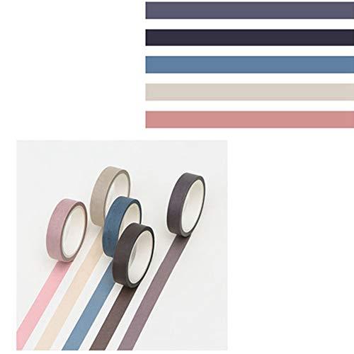 Bainuojia Washi Tape–Masking Tape Decoración
