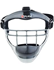 Pure2Improve P2I100460 Masque Bouclier de Sport Mixte Enfant, Noir