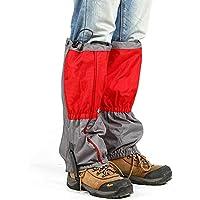 Malla Nieve Aire Libre Impermeable Legging Calzas Botas Arranque 600D Tela Oxford Anti-rasgadura para Caminatas Aire Libre Caminando Caza Escalada Montaña