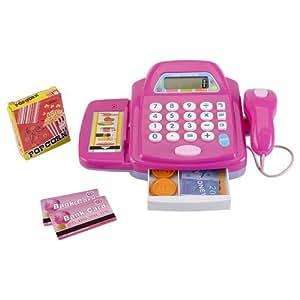 caisse enregistreuse jouet de magasin ou epicerie pour enfant jeux et jouets. Black Bedroom Furniture Sets. Home Design Ideas
