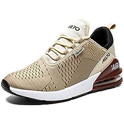 IceUnicorn - Zapatillas Deportivas para Hombre y Mujer, Ligeras, Transpirables, Color, Talla 39 EU