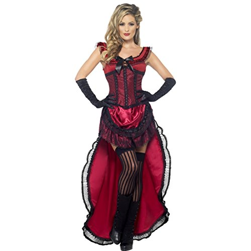 Saloon Girl Western Costume Sexy Burlesque Can Can Dress Cancan Women Western Saloon Girl Costume costume show Dancer Fancy Dress Carnival Costume Ladies