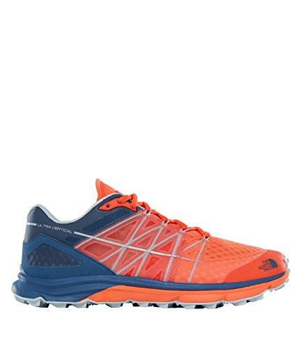 The North Face Zapatillas De Running Ultra Vertical Para Hombre SCARLET IBIS/SHADY BLUE