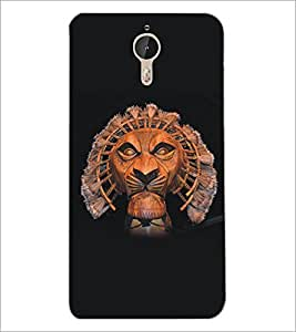 PrintDhaba Lion D-5135 Back Case Cover for LETV LE 1 PRO ULTRA (Multi-Coloured)