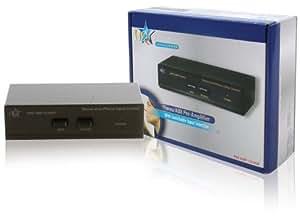 HQ Stereo Vorverstärker mit Schaltbarem Aux-Eingang