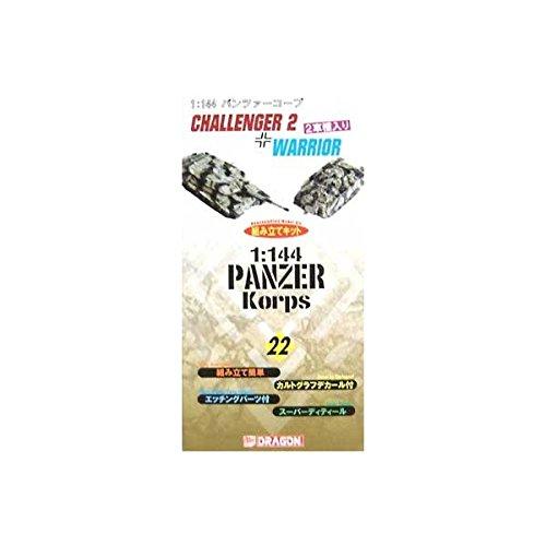 Panzerkorps 22 - Challenger 2 + Warrior - Bausatz 1:144