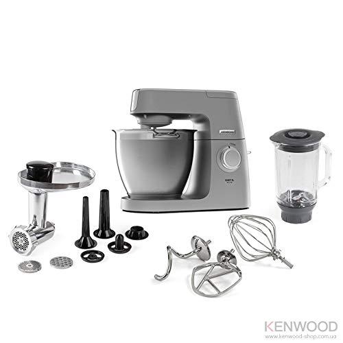 Kenwood KVL6370 Chef Elite Impastatrice Planetaria, 1400 W, 6.7 Litri, Acciaio, Plastica,...