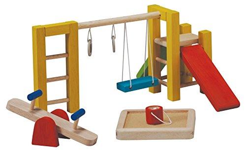 PlanToys - PT7153 - Jouet en bois - Aire de Jeux