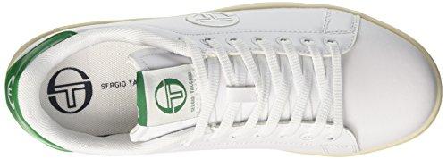 Sergio Tacchini Herren Gran Torino Low-Top Bianco (White Green)