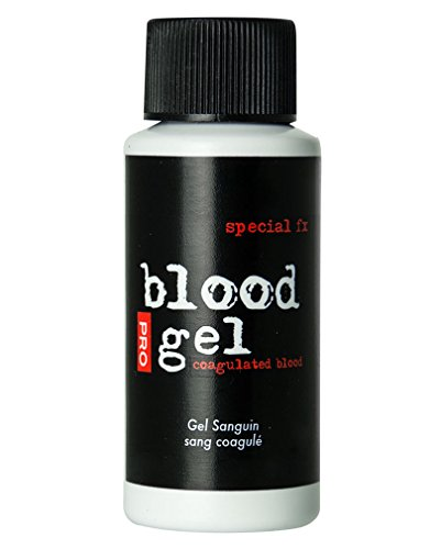Horror-Shop Spezial FX Blut Gel / Blood Gel als Halloween Make-up Effekt