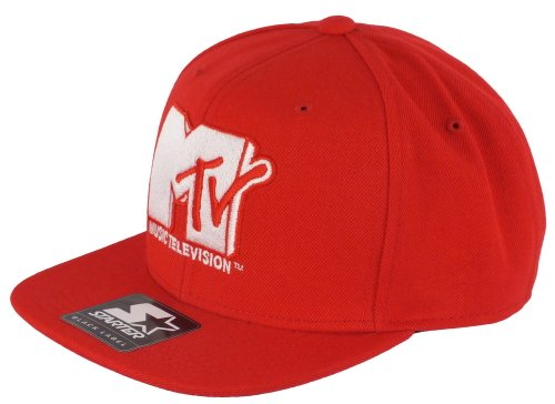 mtv-starter-snapback-mt001-icon-logo-sb-red-white-grossentabelle-one-size-fitts-all