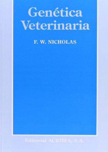 Genética veterinaria por F. W. Nicholas