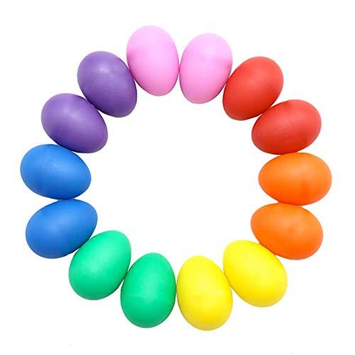 TK Gruppe Timo Klingler 20x Ostereier 6 cm in bunten Farben aus Plastik, Kunststoff Kunstoffeier als Deko Dekoration für Ostern (20x gemischte Farben)