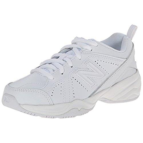 New Balance Kids Unisex KX624 (Little Kid/Big Kid) White Sneaker 1 Little Kid XW