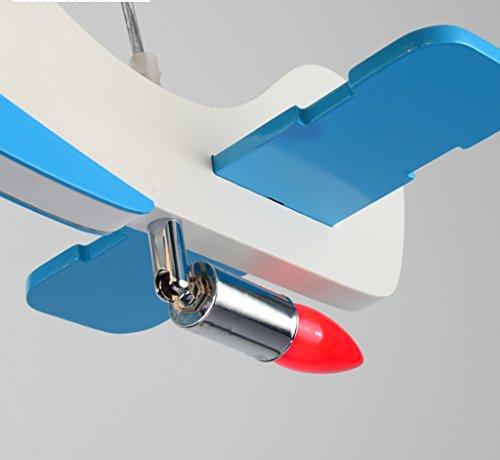 Flugzeug Kronleuchter LED-Lampe kreative Kinderzimmer Jungen und Mädchen Schlafzimmer Raumlampe modernen minimalistischen Karikatur - 4