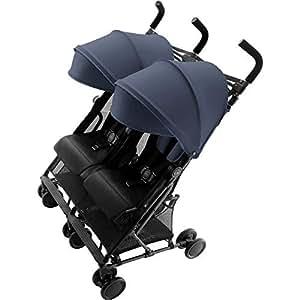 Britax Römer Holiday Double Buggy, 6 Monate bis 3 Jahre (bis 15 kg pro Sitz), Kollektion 2019, navy blue