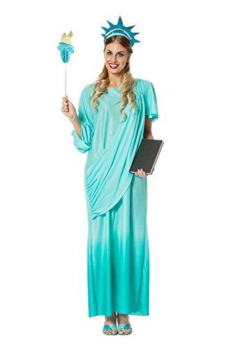 Liberty Miss Kostüm - Damen Kostüm Freiheitsstatue Karneval Fasching Gr.46