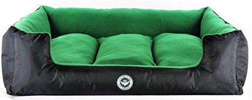 Loving-Care-Pet-Products-Ultra-Supreme-Lounger-Style-Pet-Bed-RemovableReversible-Pillow-Soft-Microfibre-interior-Durable-Water-Resistant-Exterior-Completely-Machine-Washable-Highest-Quality-Materials-