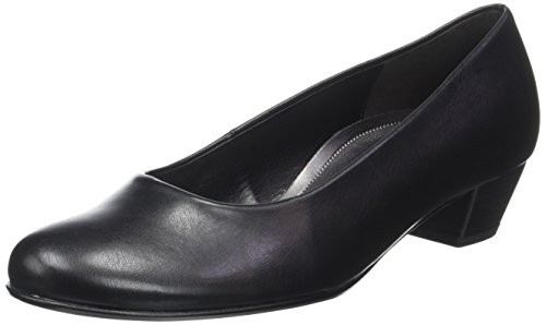 Gabor Shoes Damen Comfort Basic Pumps, Schwarz (51 Schwarz), 40 EU (Pump P/f)