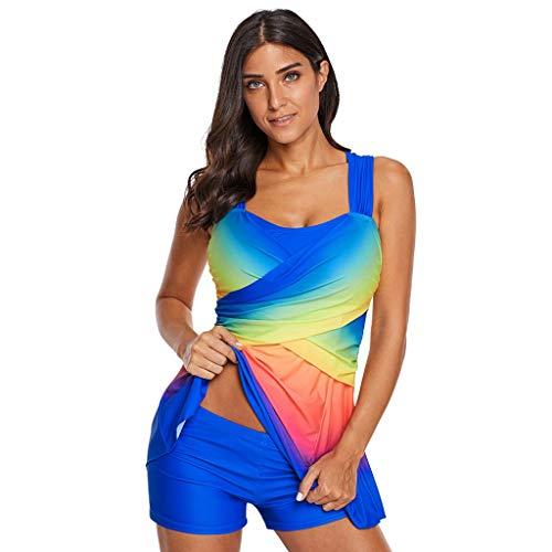 Asalinao Damen Taillenverlauf mit hohem Taillenverlauf, Formung, Größe, Sportbademode, Badebekleidung, ()