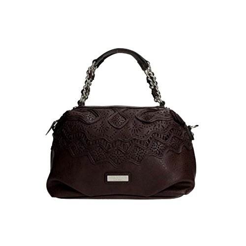 Borsa Scervino Street Corine marrone cod. scbpu0000049 con manico borsa da donna han bag shoulder bag brown outlet made in italy borse firmate
