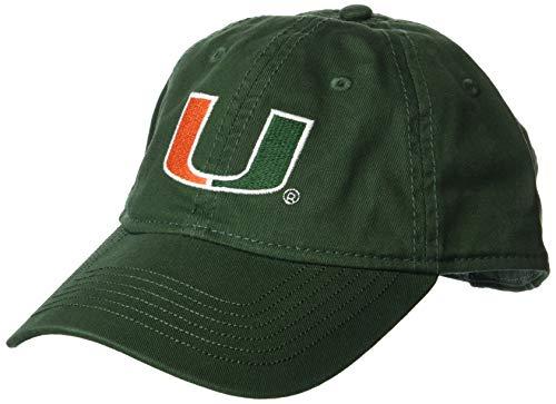 Ouray Sportswear NCAA Miami Hurricanes Herren Epic Washed Teewill Cap, Athletic Hunter -