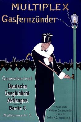 multiplex-gasfernzunder-vintage-french-advertising-mouse-mat-retro-art-19cms-x-25cms