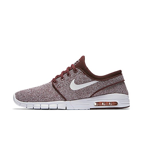 best service 48527 7633b Nike - Sbstefan Janoski MAX - Zapatillas - Dark Team Red Circuit  Orange White