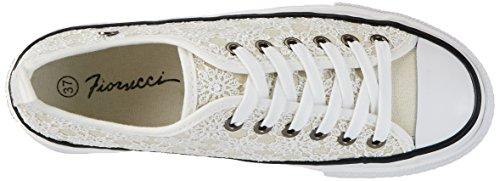 Fiorucci Fepa002, chaussons d'intérieur femme Blanc