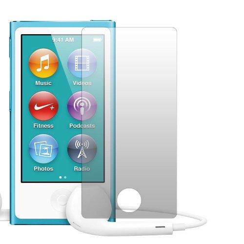 Slabo 2 x Displayschutzfolie iPod Nano 7G (2012) Schutzfolie Folie No Reflexion|Keine Reflektion MATT - Entspiegelnd MADE IN GERMANY