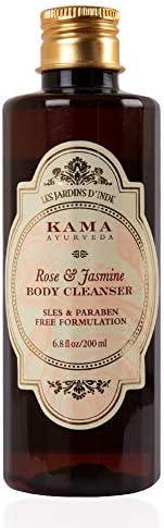 Kama Ayurveda Rose and Jasmine Body Cleanser, 6.7 Fl Oz