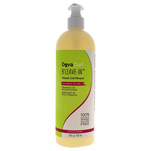 DevaCurl Après-shampooing volumisant sans rinçage B'Leave In - Brillance et corps - 473 ml