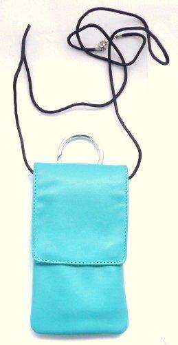 Genuine Krusell Edge Case In Turquoise Doux Cuir Avec Rabat Adapté Pour Apple iPhone SE Turquoise Krusell Edge