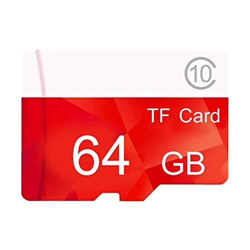 Goodtimera 32GB-512GB MicroSD Memory Card + SD Adapter, Class 8 (Memory Card 64 G)