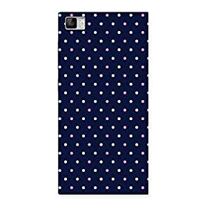 Delighted Colorful Dots Prints Back Case Cover for Xiaomi Mi3