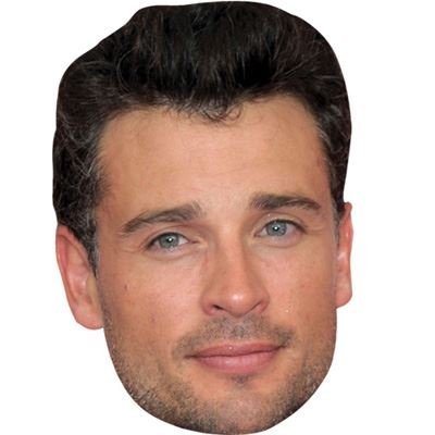 Celebrity Cutouts Tom Welling Maske aus ()