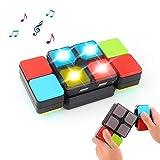 Yojoloin Jouets pour 5-12 Ans Garçons Filles Rubiks Cube Magique Musique Électronique Cube Enfants Puzzle Jeu Nouveauté Jouets pour Adolescents Noël Enfants Cadeaux Décompression Jouets pour Adultes
