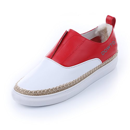 AIJIAER, Sneaker donna Red