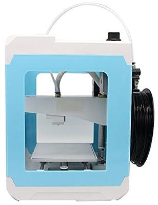 DEMU 3D Drucker Mini Printer Easier Desktop PLA Filament DIY Bildschrim USB