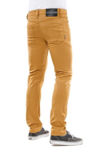 Reell Skin Stretch Jeans Yellow