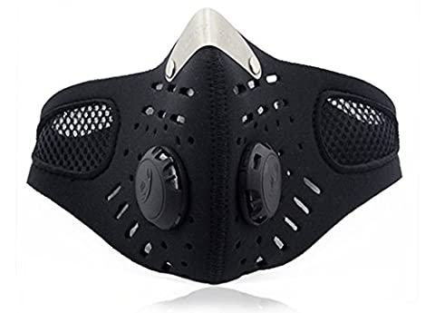 Multifunctional Half Face Protective Respirator Mask with Filter for Sport Outdoor Activities Skiing Cycling Motorcycling
