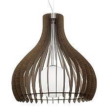 EGLO 96219 E27 Satin Nickel Pendant Lamp TINDORI
