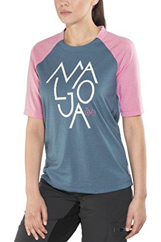 Maloja notalam. Technische Hemd und T-Shirt, Damen M Blau (Blueberry)