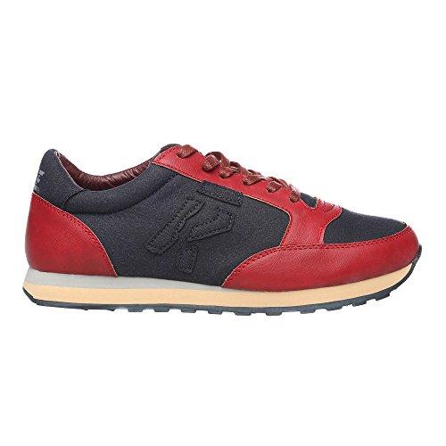 RIFLE Chaussures Homme Baskets, Plates Avec Lacets. mod. 162-M-318-447 Bordeaux - Marine