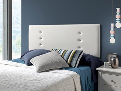Marckonfort - Ibiza Kopfteil für Bett, 160 X 55 Farbe Weiß