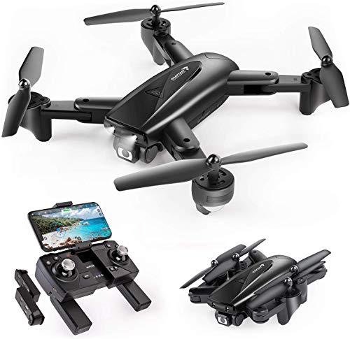SNAPTAIN SP500 Drone Pliable avec Caméra 1080P GPS,30 Mins Autonomie,2 Batteires,Suivez-Moi,Auto...